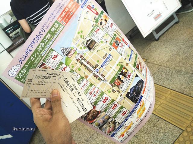 Cara Menuju Inuyama Castle, Aichi refecture