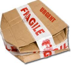 Resultado de imagen de paquetes rotos