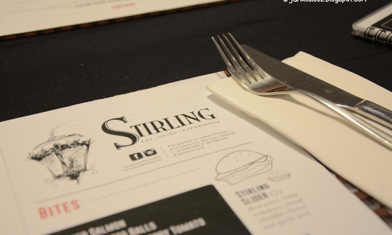 Stirling Singapore, Bar & Grill