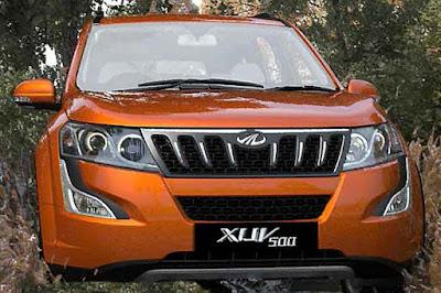 New Mahindra XUV 500 Luxury SUV exterior look