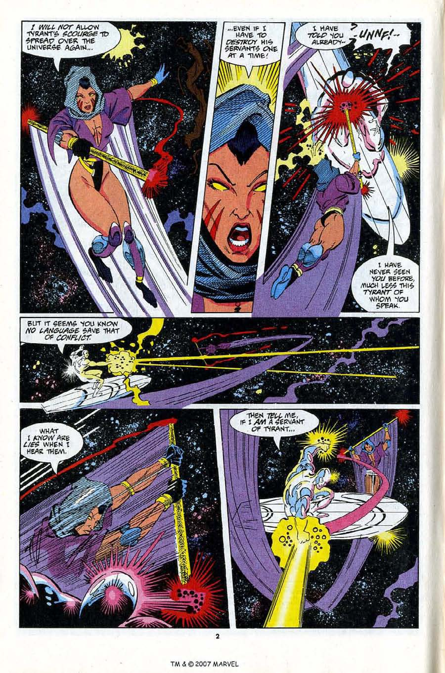 Read online Silver Surfer (1987) comic -  Issue #81 - 4