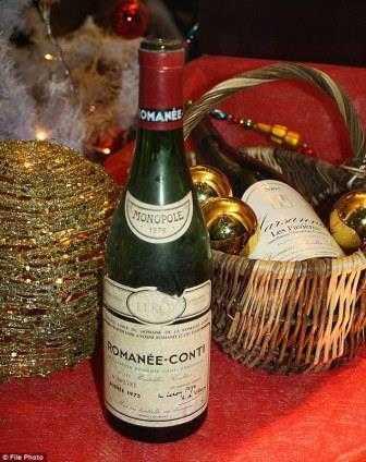 Domaine de la Romanee-Conti Romanee-Conti Grand Cru Wine atau anggur paling mahal di dunia