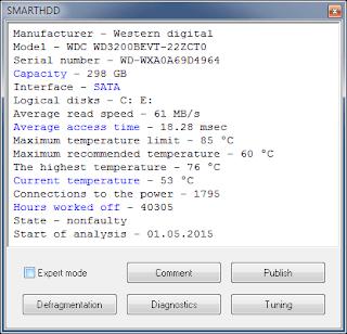 SMARTHDD 7.1.0.9584 Full Serial