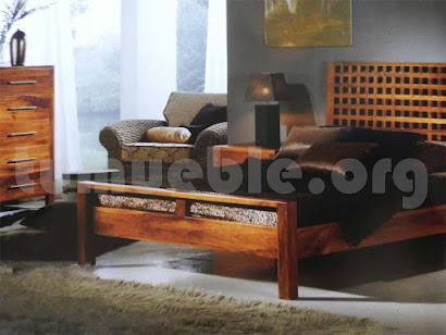 cama madera teca 4189/2