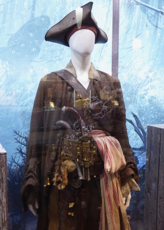 Jack Sparrow costume Pirates Caribbean Dead Men Tell No Tales