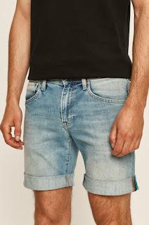Pantaloni scurti jeans Cane • Pepe Jeans