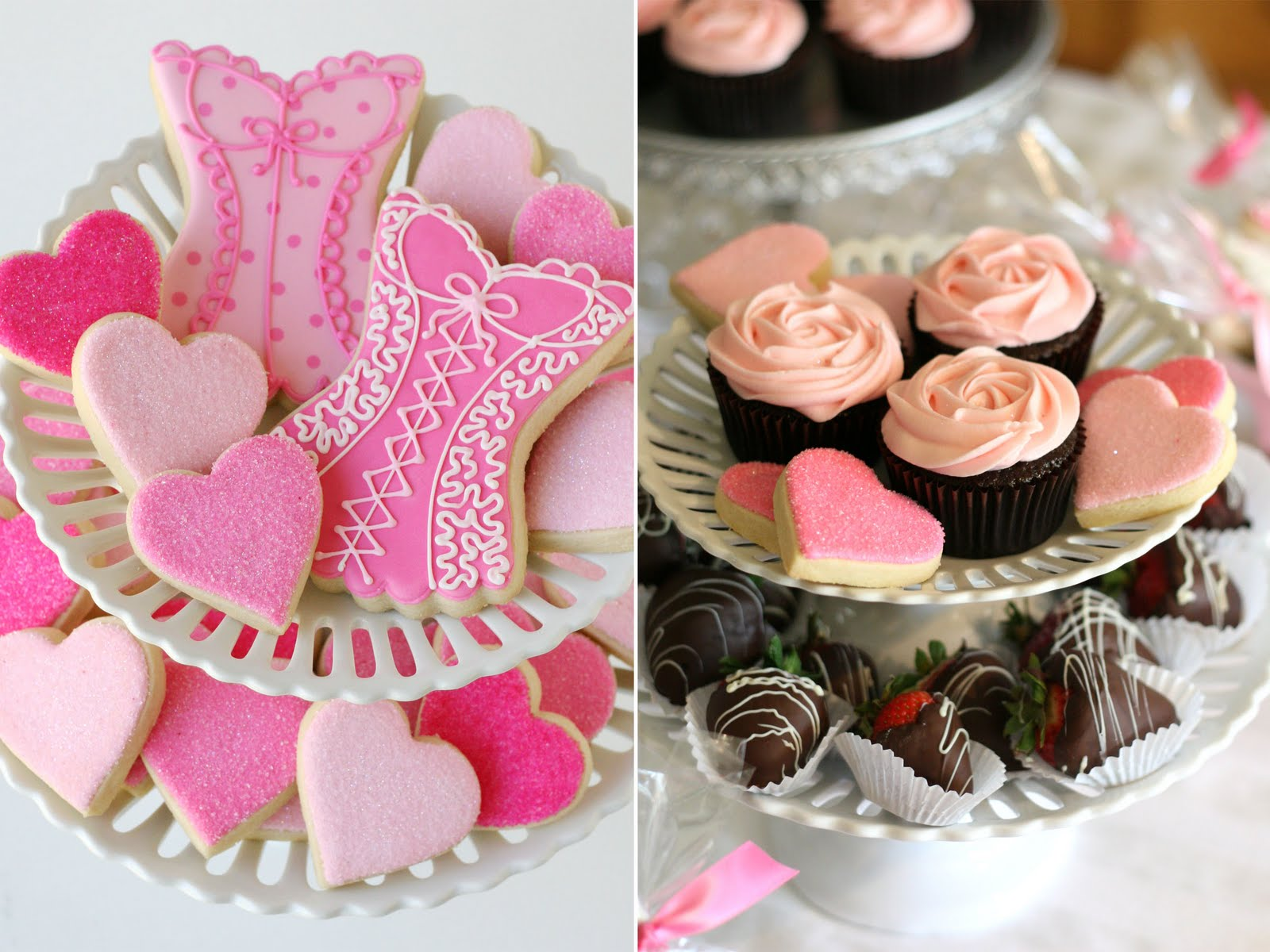 Linens and Lingerie {Wedding Shower}  Glorious Treats