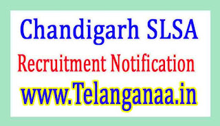 State Legal Services AuthorityChandigarh SLSA Recruitment Notification 2017