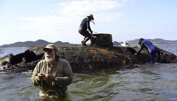 Misteri Terdamparnya Kapal Selam Tua di Pulau San Telmo Panama