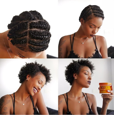 Transitioning Natural Hairstyles For Short Hair Find Your