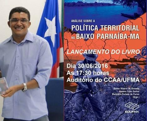 Professores de Chapadinha lançarão livro sobre política territorial no Baixo Parnaíba