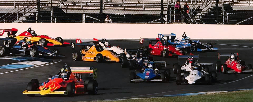 oil spills spin offs lapped traffic and tight racing defined the formula mazda fm sports car club of america national championship runoffs race