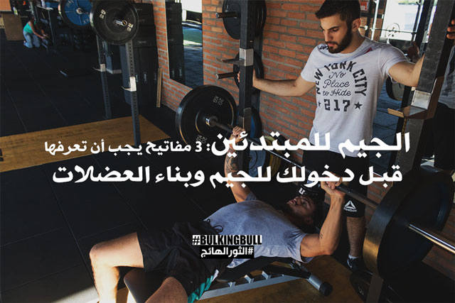 الجيم للمبتدئين: 3 مفاتيح يجب أن تعرفها قبل دخولك للجيم وبناء العضلات