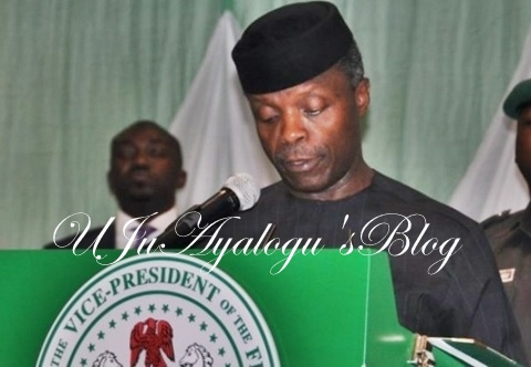 """Violence pays no one"" - Osinbajo says as he meets Igbo leaders"
