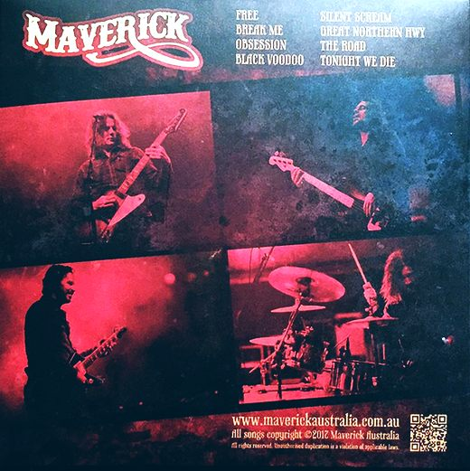 MAVERICK (AUS) - Firebird (2017) back