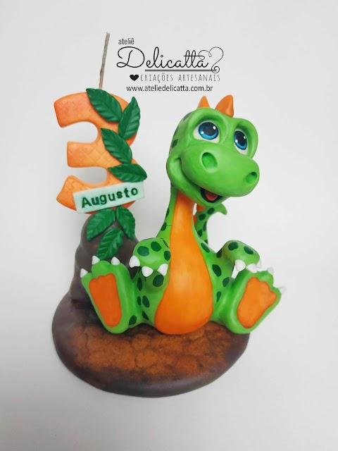 Vela Dinossauro baby