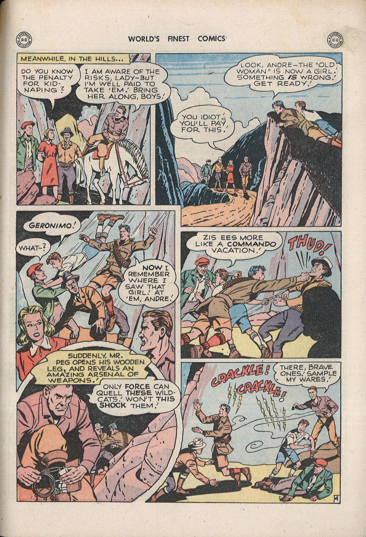 Read online World's Finest Comics comic -  Issue #33 - 51
