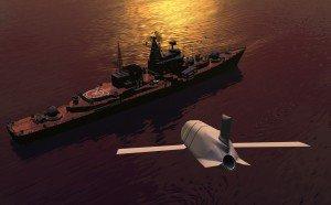 Καλλιτεχνική απεικόνιση πυραύλου LRASM