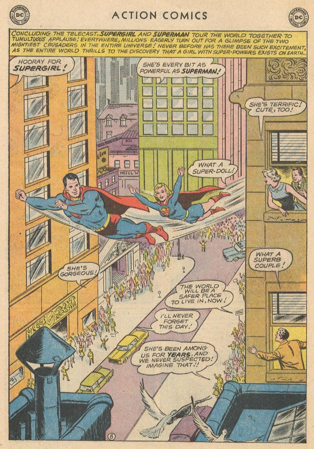 Read online Action Comics (1938) comic -  Issue #285 - 10