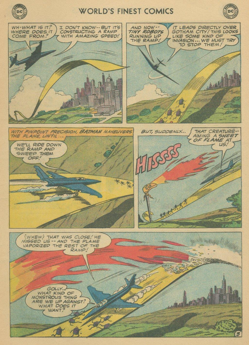Read online World's Finest Comics comic -  Issue #108 - 5