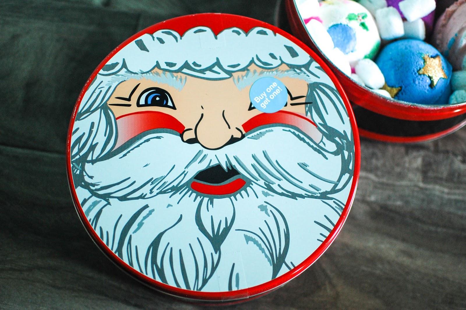 The Redolent Mermaid: Lush: Father Christmas Gift Tin