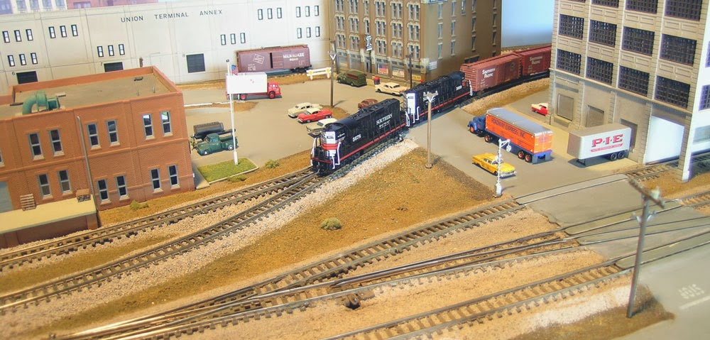 Tracks across Nevada: Old layout - Los Angeles Terminal District