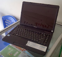 Toshiba Satellite C640 P6100, Laptop Bekas