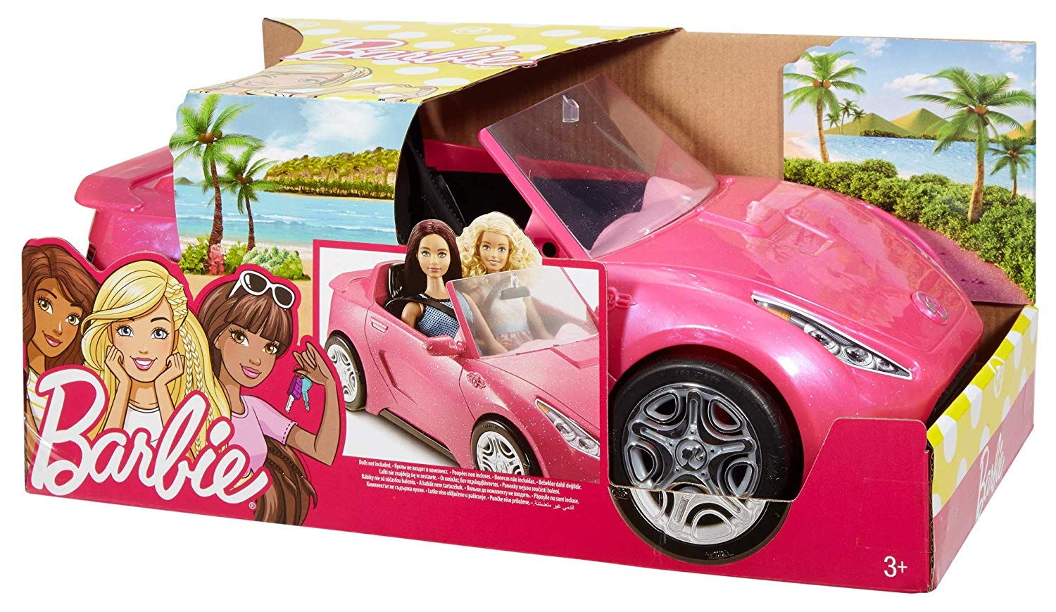 Barbie Glam Convertible 14 29 At Amazon Regularly 42 Daily