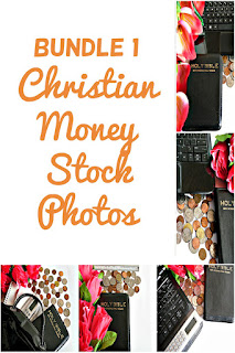 Bundle 1 Christian Money Styled Stock Photos