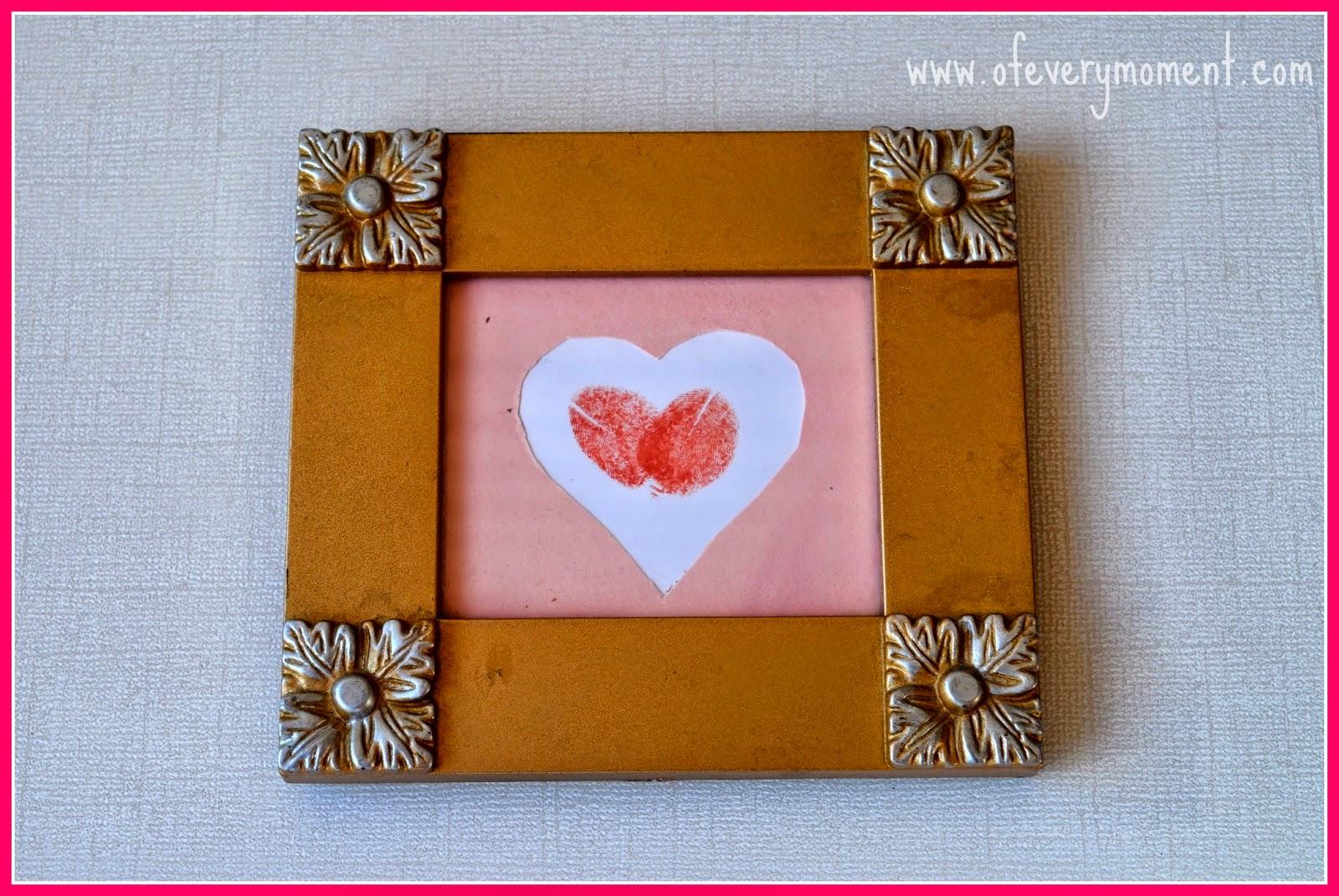 heart, framed art, gift