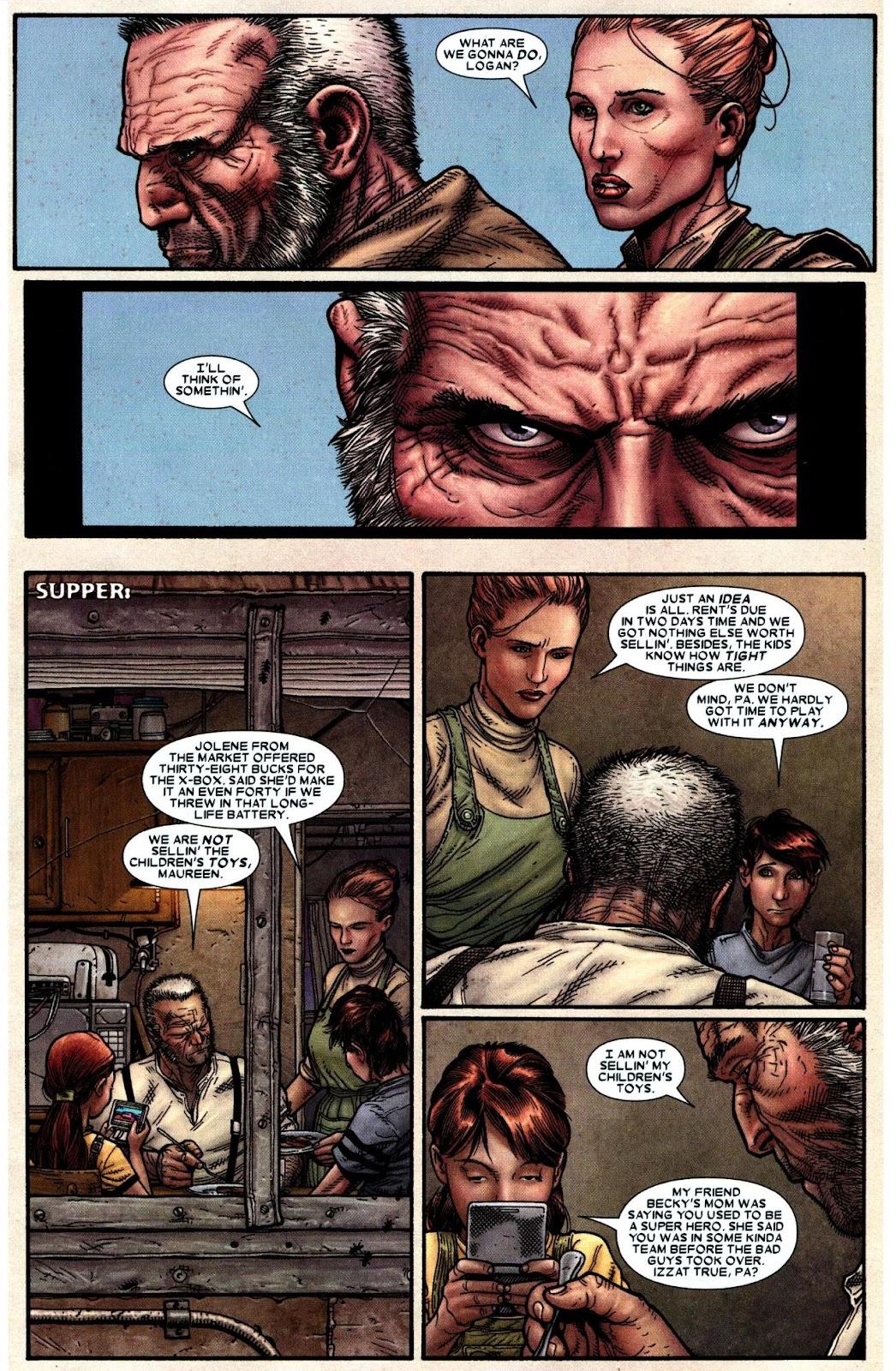 Read online Wolverine (2003) comic -  Issue #66 - 7