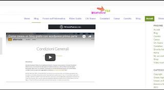 Come guadagnare on line e creare blog con le video guide di webforumpro