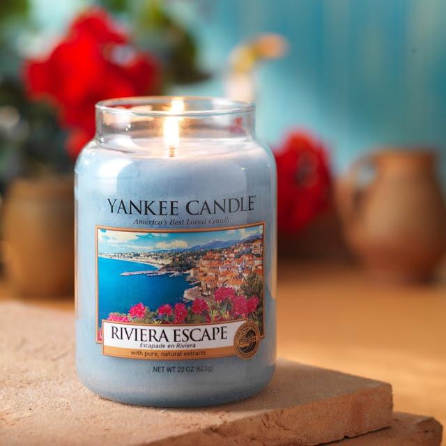 avis Riviera Escape de Yankee Candle, blog bougie, blog parfum, blog beauté