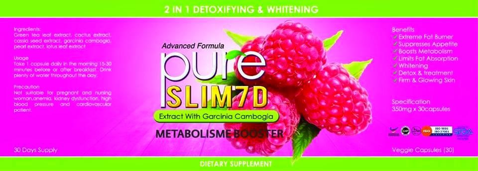 Menjual Produk Kecantikan Dan Kesihatan : PURE SLIM 7D
