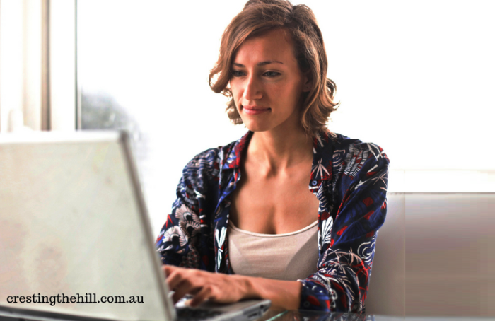 I'm starting a Saturday guest post series on www.crestingthehill.com.au - if you're a Midlife who'd like to participate feel free to let me know.