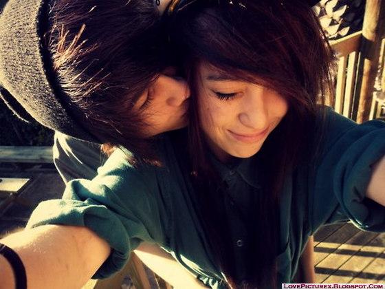 Emo couple pics cute