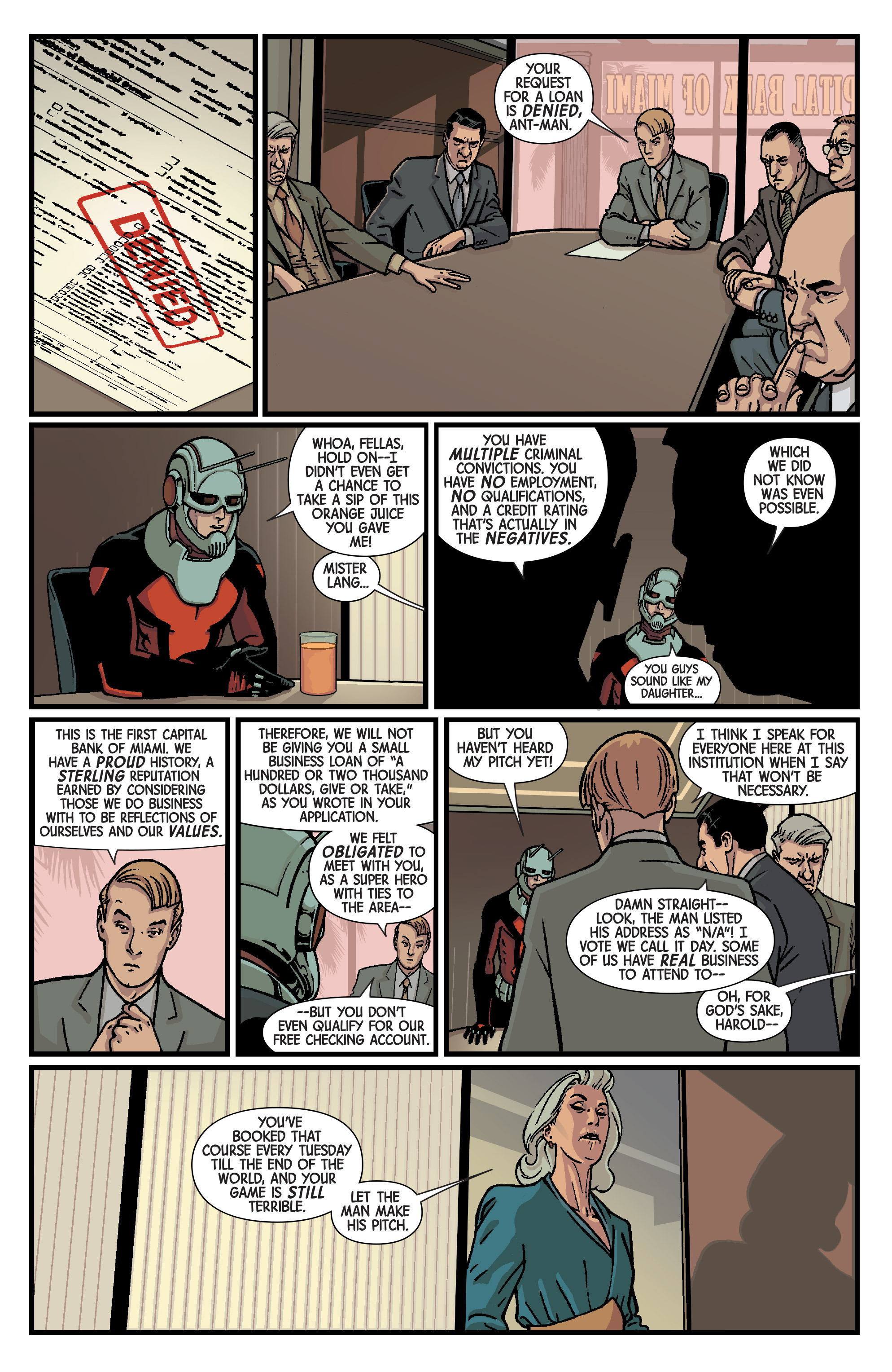 Read online Ant-Man comic -  Issue #2 - 7