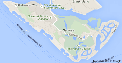 Sentosa island singapore map review and transportation gumiabroncs Gallery