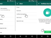 Cara Mengaktifkan Verifikasi Dua Langkah di Akun Whatsapp