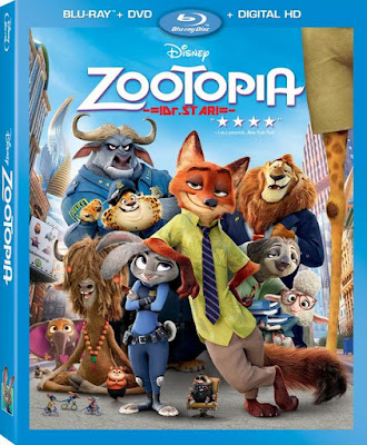 Zootopia 2016 Dual Audio Hindi ORG 720p BRRip 1Gb ESub