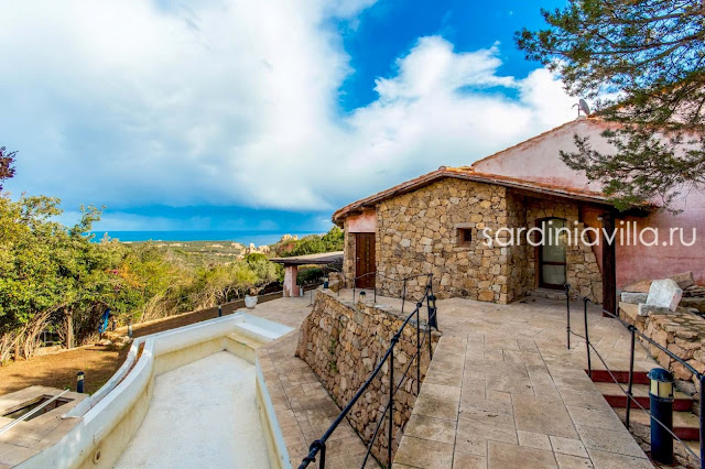 Вилла на Сардинии с бассейном продажа
