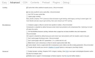 Cara setting WP Super Cache - WPSuperCache - Setup4