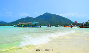 jelajah pulau dalam paket wisata open trip pahawang