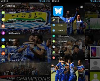 BBM Mod Tema Persib Bandung v3.0.1.25 Apk [BBM Whatsapp Mod]