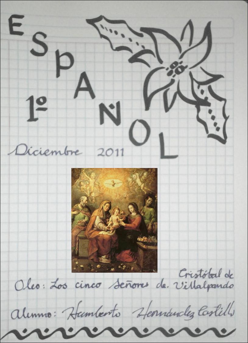 Portadas Diciembre 2011 | Español Secundaria CMR