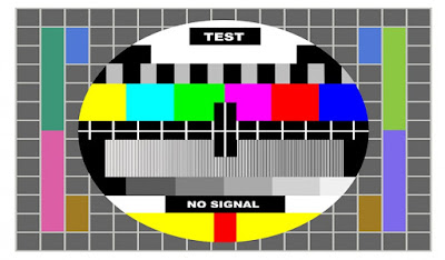 tv color test pattern, test card for PAL and NTSC