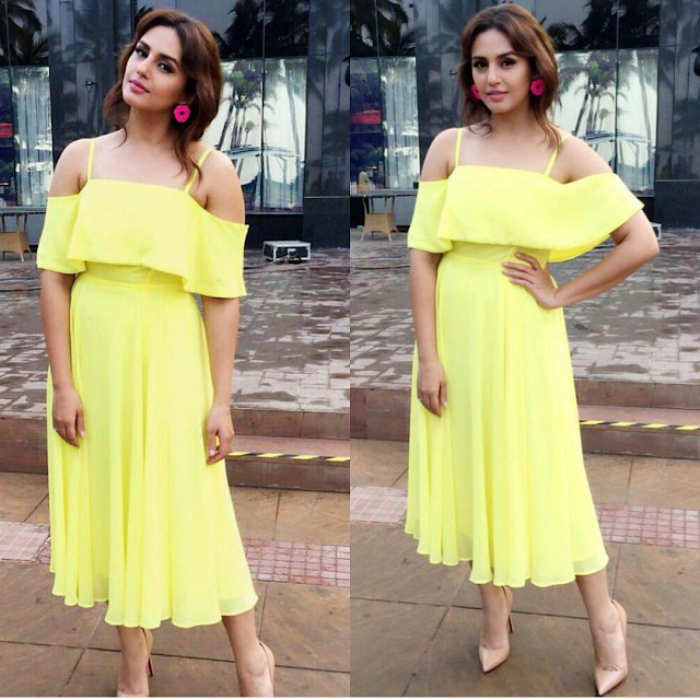 Huma Qureshi In Asos For Jolly LLB 2 Promotions