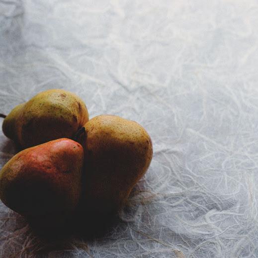 Rezept: Heidelbeer-Birnenkuchen mit Zimt-Topping (laktosefrei)