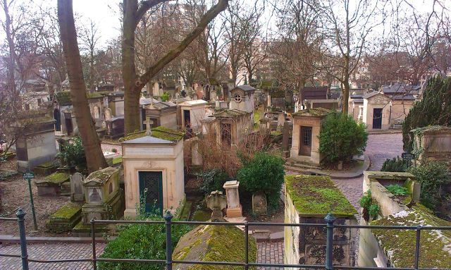 cemiterio do pere paris frança