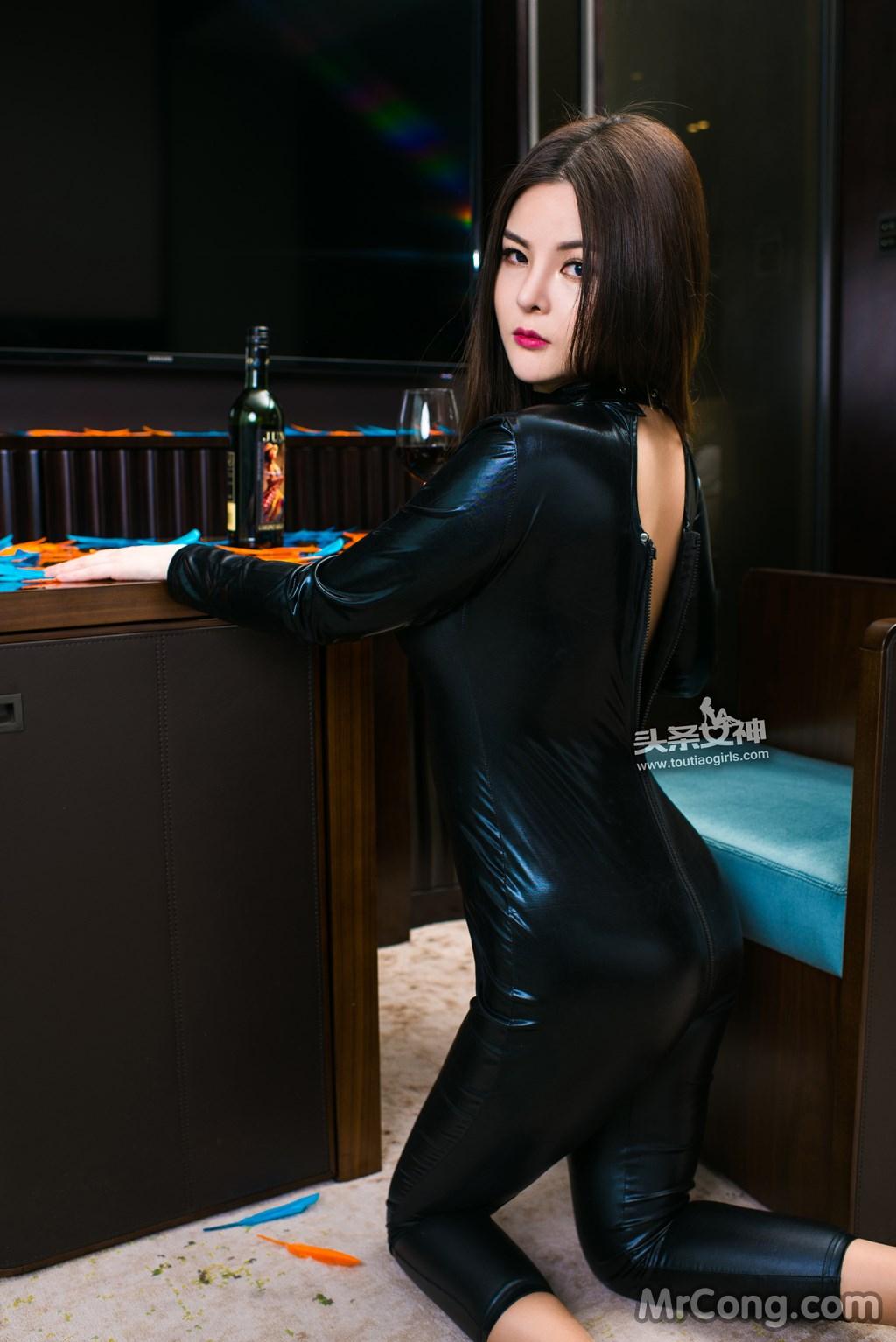 Image MrCong.com-TouTiao-2017-02-11-Tong-An-Qi-009 in post TouTiao 2017-02-11: Người mẫu Tong An Qi (童安琪) (27 ảnh)